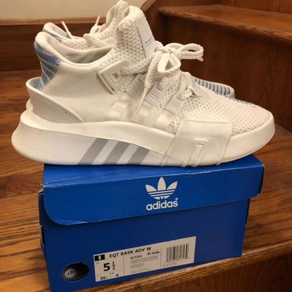 low priced 9195e b4783 Adidas EQT Basketball Adv Shoes Size: 5.5